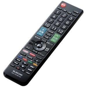 エレコム かんたんTVリモコン ソニー・ブラビア用 ERC−TV01BK−SO (ブラック)