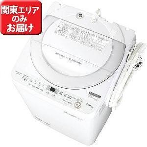 シャープ 全自動洗濯機 (洗濯7.0kg) ES−GE7B−W ホワイト系(標準設置無料) y-kojima