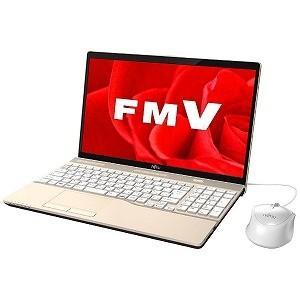 富士通 15.6型ノートPC LIFEBOOK AH45/B3 FMVA45B3G(シャンパンゴールド)|y-kojima