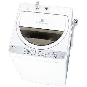 東芝 全自動洗濯機 (洗濯7.0kg) AW−7G6−W グランホワイト(標準設置無料)|y-kojima