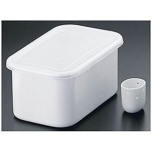 ホーローぬか漬け美人 TK−32 (冷蔵庫用ぬか床容器) ATK5001|y-kojima