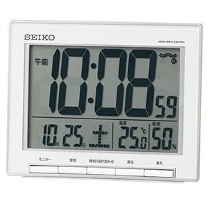 セイコー 電波デジタル目覚まし時計 SQ786S...