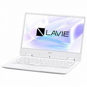 NEC LAVIE Note Mobile 12.5型ノートPC PC−NM550KAW パールホワイト