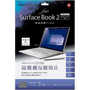 ナカバヤシ SurfaceBook2用 液晶保護フィルム 高精細反射防止 TBFSFB17FLH [...