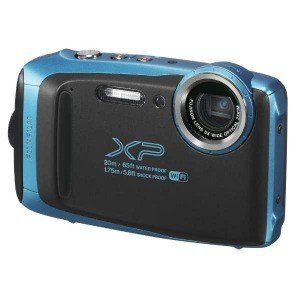 富士フィルム 防水コンパクトデジタルカメラ FinePix(ファインピックス) XP130(スカイブルー)|y-kojima