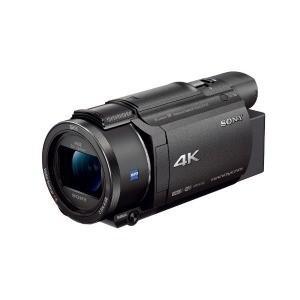 ソニー メモリースティック/SD対応 64GBメモリー内蔵 4Kビデオカメラ FDR−AX60 (ブ...