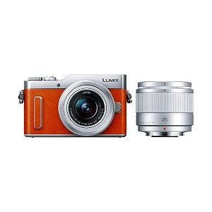 パナソニック ミラーレス一眼カメラ LUMIX GF10(ダブルレンズキット) DC−GF10W−D(オレンジ)|y-kojima|02