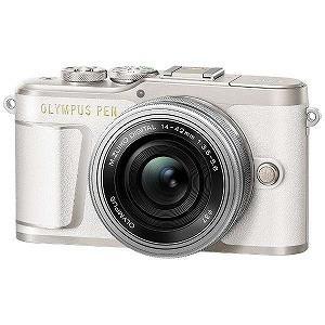オリンパス ミラーレス一眼カメラ(14−42mm EZレンズ...