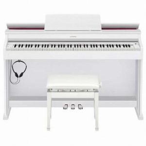 CASIO 電子ピアノ CELVIANO AP−470WE ホワイトウッド調(標準設置無料) y-kojima
