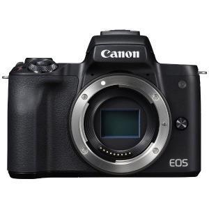 Canon ミラーレス一眼カメラ EOS Kiss M ボディ(レンズ別売) ブラック