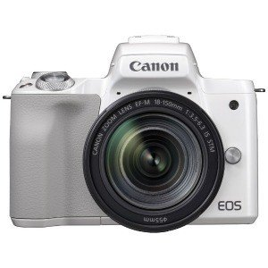 Canon ミラーレス一眼カメラ EOS Kiss M EF−M18−150 IS STM レンズキ...