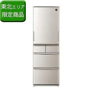 シャープ 5ドア冷蔵庫 (412L) SJ−W412D−S シルバー系(標準設置無料)|y-kojima