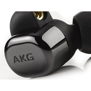 AKG 「ハイレゾ音源対応」[マイク付]カナル型イヤホン AKGN5005BLKJP (ピアノブラッ...