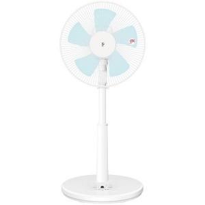 山善 リモコン付リビング扇風機 (5枚羽根)  YLRAG302−W|y-kojima