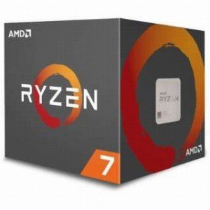 AMD 〔CPU〕 AMD Ryzen 7 2700 with WraithSpire(LED)cooler  YD2700BBAFBOX