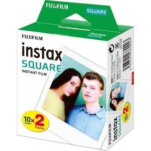 富士フイルム チェキ 「instax SQUARE」 2パック(10枚入×2) INSTAXSQUA...