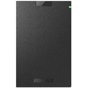 バッファロー 外付けHDD ブラック [ポータブル型 /500GB] HD−PCG500U3−BA
