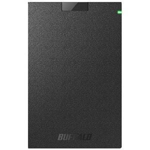 バッファロー 外付けHDD ブラック [ポータブル型 /1TB] HD−PCG1.0U3−BBA