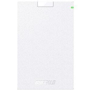 バッファロー 外付けHDD ホワイト [ポータブル型 /1TB] HD−PCG1.0U3−BWA