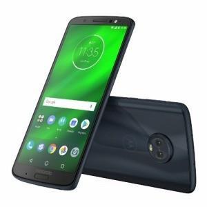 モトローラ SIMフリースマートフォン「PAAT0026JP」Snapdragon630 5.93型 Moto G6 PLUS ディープインディゴ|y-kojima