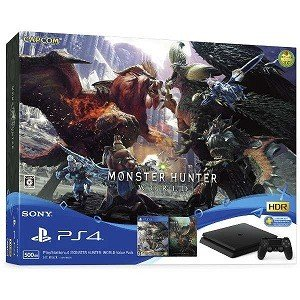 ソニー・コンピュータエンタテインメント PS4ゲーム機本体 PlayStation4 MONSTER HUNTER: WORLD Value Pack y-kojima
