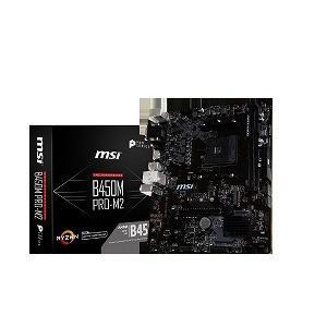 マザーボード MSI B450M PRO−M2 B450MPROM2 [MicroATX /AM4]