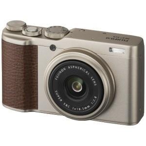 富士フイルム コンパクトデジタルカメラ FUJIFILM XF10(シャンパンゴールド)