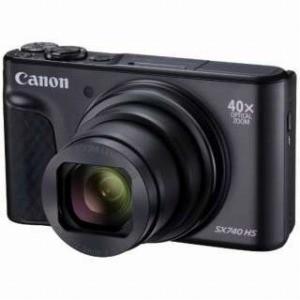 Canon コンパクトデジタルカメラ PowerShot(パワーショット) SX740 HS−BK(ブラック)|y-kojima