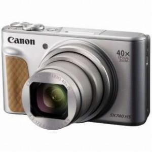 Canon コンパクトデジタルカメラ PowerShot(パワーショット) SX740 HS−SL(シルバー)|y-kojima