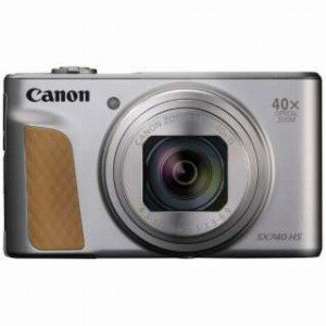 Canon コンパクトデジタルカメラ PowerShot(パワーショット) SX740 HS−SL(シルバー)|y-kojima|02