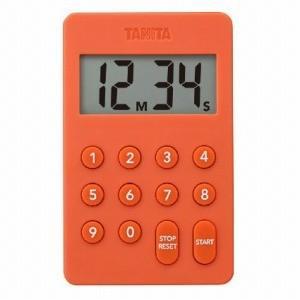タニタ デジタルタイマー TD−415−OR