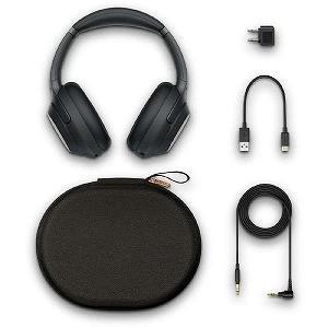 ソニー ワイヤレスノイズキャンセリングステレオヘッドセット WH−1000XM3BM ブラック|y-kojima|03