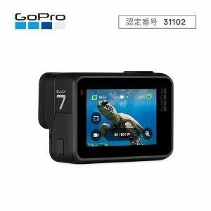 GOPRO マイクロSD対応 4Kムービー ウェアラブルカメラ GoPro HERO7 CHDHX−...