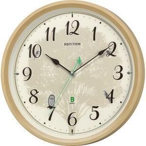 リズム時計工業 RHYTHM 日本野鳥の会 四季の野鳥 報時掛時計409 8MN409SR06