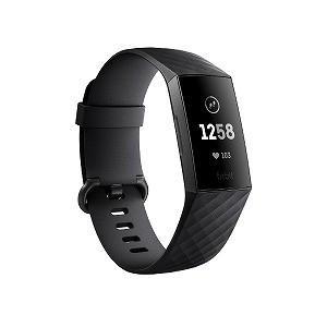 Fitbit フィットビット フィットネストラッカー Charge3 FB410GMBK−CJK ブ...