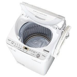 シャープ 全自動洗濯機(洗濯7.0kg) ES−GE7C−W ホワイト系(標準設置無料)|y-kojima
