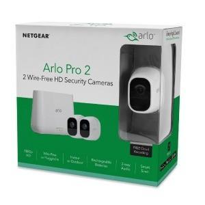ARLO Aro Pro2 VMS4230P−100JPS[ベースステーション+カメラ2台セット] ...