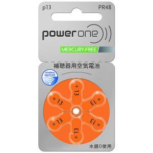 シャルマン シャルマン 補聴器用電池 空気亜鉛電池/無水銀タイプ powerone [6本 /PR48(13)] PW048 コジマPayPayモール店