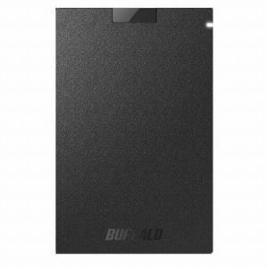 バッファロー 外付けSSD ブラック [ポータブル型 /120GB] SSD−PG120U3−BA