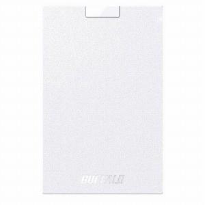 バッファロー 外付けSSD ホワイト [ポータブル型 /120GB] SSD−PG120U3−WA