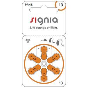 シーメンス 補聴器用電池 空気電池 signia(シグニア) [6本 /PR48(13)] PR48 コジマPayPayモール店