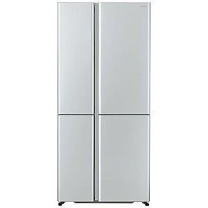 AQUA 4ドア冷蔵庫(512L・フレンチドア) AQR−TZ51H(S) サテンシルバー (標準設...