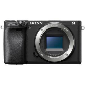 ソニー SONY ミラーレス一眼カメラ 「α6400」 ボディ(レンズ別売) ILCE−6400−B...