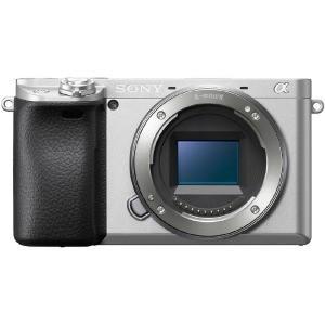 ソニー SONY ミラーレス一眼カメラ 「α6400」 ボディ(レンズ別売) ILCE−6400−S...
