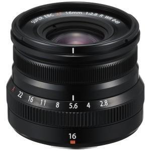 富士フイルム カメラレンズ XF16mm F2.8R WR B 【FUJIFILM Xマウント】 F...