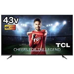 TCL 43V型4K対応液晶テレビ 43K600U(標準設置無料)の画像