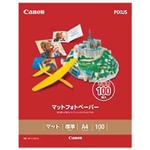 Canon マットフォトペーパー(A4・100枚) MP‐101A4100|y-kojima