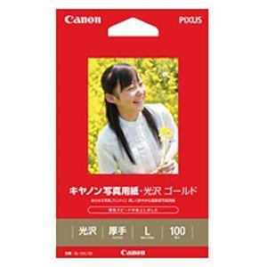 Canon 写真用紙・光沢 ゴールド L判 100枚 GL‐101L100|y-kojima