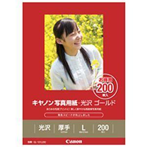 Canon 写真用紙 光沢 ゴールド L判 200枚 GL‐101L200|y-kojima