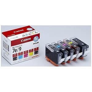 Canon インク BCI−7e 4色(BK/C/M/Y) + BCI−9BK マルチパック BCI‐7E+9/5MP